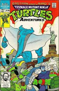 Teenage Mutant Ninja Turtles Adventures (2nd Series) #5 FN; Archie | save on shi