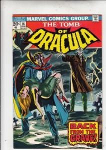 Tomb of Dracula #16 (Jan-74) VF/NM High-Grade Dracula
