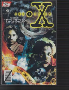 X-Files #4 (Topps, 1995) NM