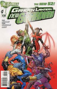 Green Lantern: New Guardians #1 (2nd) VF/NM; DC | save on shipping - details ins