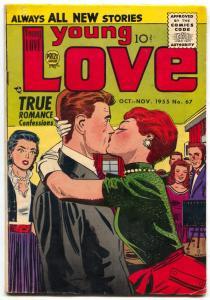 Young Love #67 1956- Romance comic- FN-