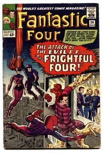Fantastic Four #36 comic book 1965 marvel First Medusa Frightful Four