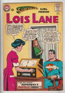 Lois Lane, Superman's Girlfriend  #44 (Oct-63) FN/VF+ High-Grade Superman, Lo...