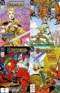 DRAGONLANCE (1988) 22-25 Dragonring Saga 4-part story
