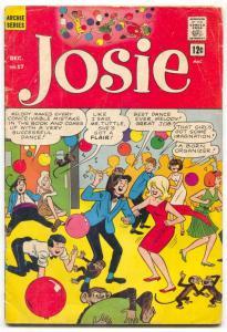 Josie #17 1965- Archie Silver Age Comic- G/VG