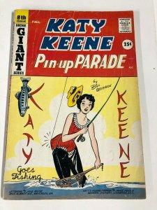 KATY KEENE PARADE 8 VG  Bill Woggon  FALL 1959 Archie giant series