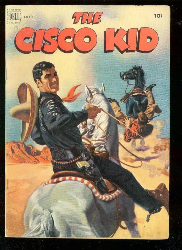 THE CISCO KID 12 1952 DELL COMICS WESTERN D RENALDO TV FN HipComic