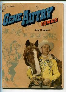 GENE AUTRY #31-1949-DELL-WESTERN-PHOTO COVERS-MOVIE-TV-good