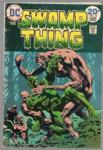 SWAMP THING 10 GD June 1974