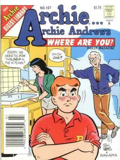 Archie…Archie Andrews, Where Are You? Digest Magazine #107 VF/NM; Archie | combi
