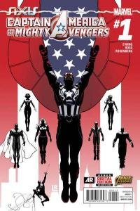 Captain America & The Mighty Avengers #1, NM + (Stock photo)