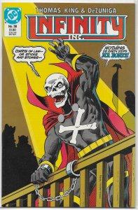 Infinity Inc. (vol. 1, 1984) #38 VF Thomas/King, Helix