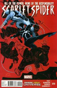 Scarlet Spider (2nd Series) #19 VF/NM; Marvel   save on shipping - details insid