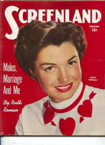 ScreenLand-Esther Williams-Shelley Winters-Glenn Ford-Gordon MacCrae-Feb-1951