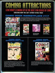 Comic Book Marketplace #116 2004-Gemstone-early comics history-collector info-VF