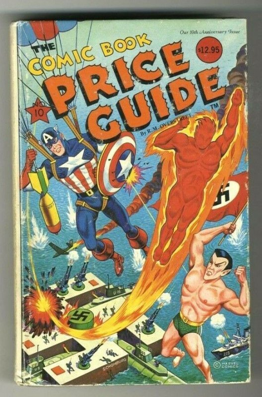 The Comic Book Price Guide Overstreet No. 10 Hardcover 1980 GD