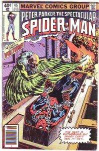 Spider-Man, Peter Parker Spectacular #45 (Aug-81) FN Mid-Grade Spider-Man