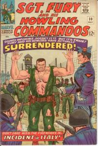 SERGEANT FURY 30 VG May 1966 COMICS BOOK