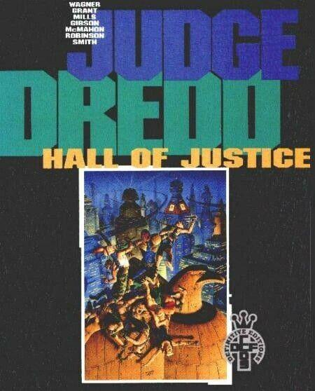 JUDGE DREDD HALL OF JUSTICE/WagnerGrantGibson