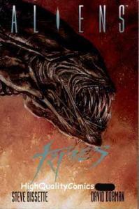 ALIENS : TRIBES hc/dj,1st, 1992, Sci-Fi, Dave Dorman, Steve Bissette, NM