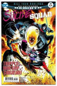 Suicide Squad #24 Rebirth Main Cvr (DC, 2017) NM