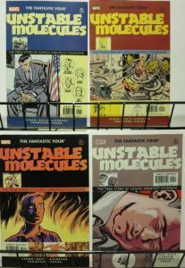 FANTASTIC FOUR UNSTABLE MOLECULES, STARTLING STORIES (2