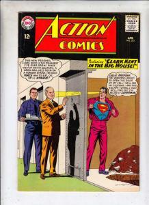 Action Comics #323 (Apr-65) FN/VF Mid-High-Grade Superman, Supergirl