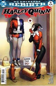 Harley Quinn #18 (2017) var. cvr.