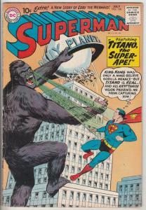 Superman #138 (Jul-60) FN/VF Mid-High-Grade Superman, Jimmy Olsen,Lois Lane, ...