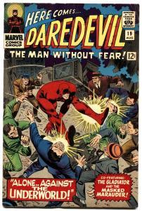 DAREDEVIL #19 1966-MARVEL COMICS- GLADIATOR- fn+