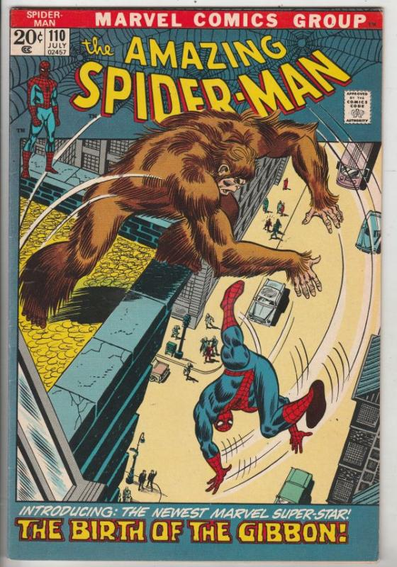 Amazing Spider-Man #110 (Jul-72) NM- High-Grade Spider-Man