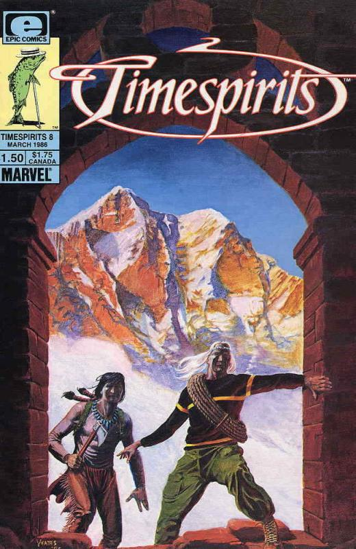 Timespirits #8 VF/NM; Epic | save on shipping - details inside