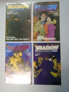 The Shadow set #1-4 8.0 VF (1986 DC Limited Series)