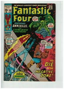 FANTASTIC FOUR 109 FINE  April 1971