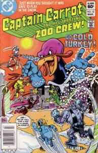 Captain Carrot and His Amazing Zoo Crew #13 (Newsstand) FN; DC   save on shippin