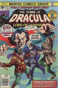 Tomb of Dracula (1972 series) #53, VF- (Stock photo)