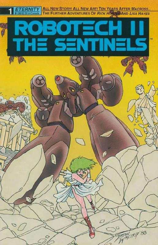 ROBOTECH 25-Different, Hit Anime/Manga!,