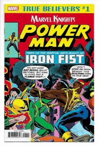 True Believers Power Man and Iron Fist #1 (Marvel, 2018) NM