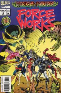 Force Works #6 FN; Marvel | save on shipping - details inside