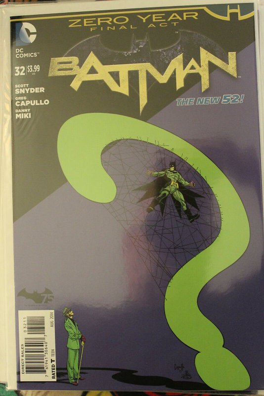 Batman the New 52 #32 (Aug 2014, DC) NM/MT