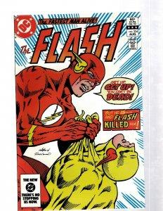 Flash # 324 NM DC Comic Book Reverse Flash Barry Allen Grodd Mirror Master J460