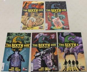 Oni: The Sixth Gun: Sons of the Gun (2013) #1-5 COMPLETE SET 1,2,3,4,5