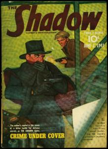 The Shadow Pulp June 1 1941- Crime Under Cover FN