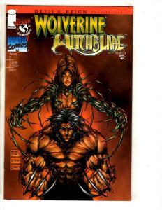 6 Comics Wolverine Weapon Xero 1 Shock Rockets 2 Wildcats 11 14 Youngblood 1 JD3
