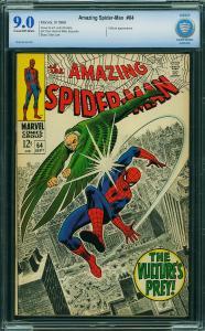 AMAZING SPIDER-MAN #64 - CBCS 9.0
