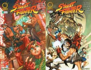 STREET FIGHTER (2003 IMAGE/ UDON) 8A, 8B  set of both!