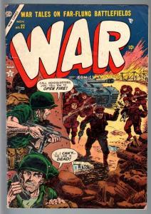 WAR #22-1953-GEORGE TUSKA-BERNIE KRIGSTEIN-VG minus VG-
