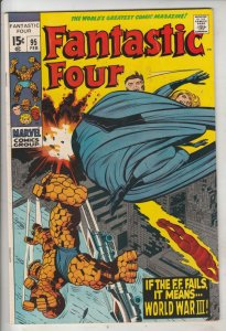Fantastic Four #95 (Feb-70) FN/VF+ High-Grade Fantastic Four, Mr. Fantastic (...