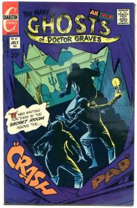 MANY GHOSTS of DOCTOR GRAVES #40, FN, Horror, 1967 1973, more Charlton in store