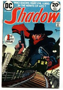 The Shadow #1 1973- DC Comics- Pulp Hero Kaluta FN